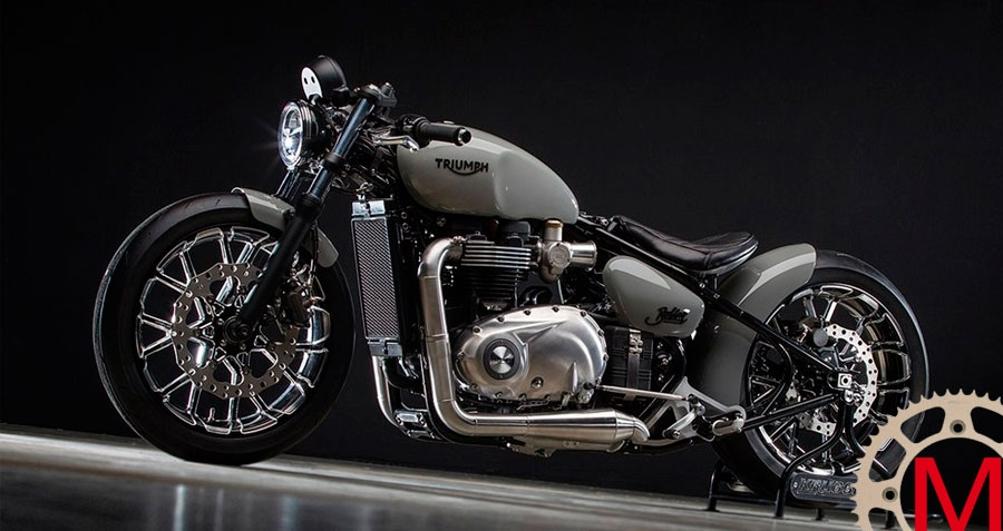 Krugger Motorcycles: кастом Triumph Bobber Hardtail
