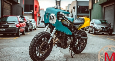 Beautiful Machines: кастом Benelli TnT 300