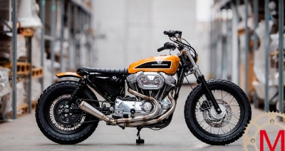 Hombrese Bikes: кастом Harley-Davidson Sportster