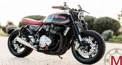 Rusty Wrench Motorcycles: кастом Suzuki GSX1200 Inazuma