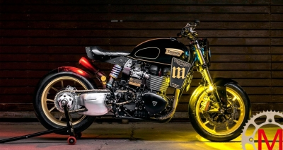 Mandrill Garage: кастом Triumph T100 Power Street